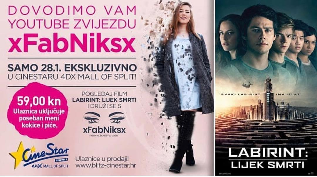28. Siječnja 2018. u CineStar kinima u Mall of Split!